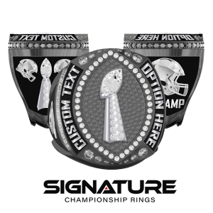 Football Ring with Text Options